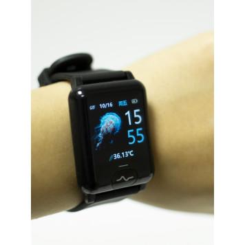 Умные часы, профессиональная серия: с температурой, оксигенацией давлением, ЭКГ и пульсом-5