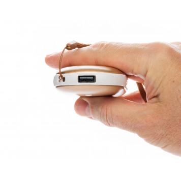 Электрическая грелка согревающая руки, золото-3
