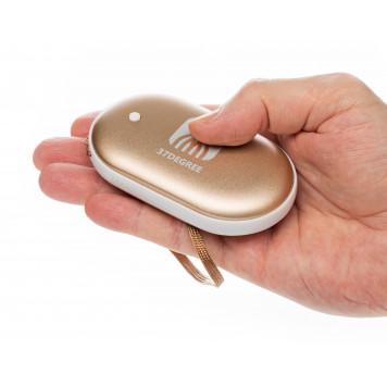 Электрическая грелка согревающая руки, золото-4