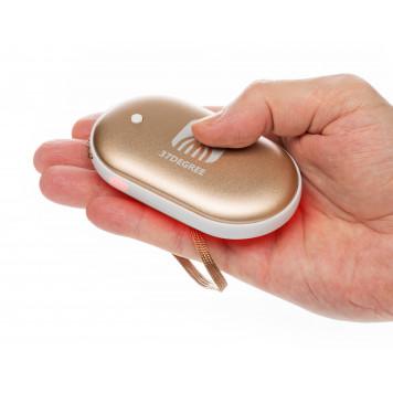 Электрическая грелка согревающая руки, золото-5