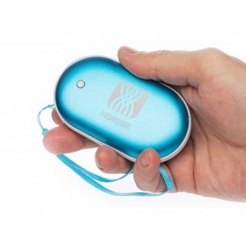 Электрическая грелка согревающая руки, синий