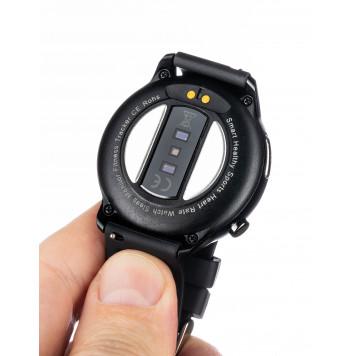 Умные часы для мониторинга температуры, кислорода крови и давления -3