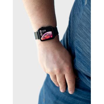Фитнес-браслет, профессиональная серия с мониторингом давления, пульса, оксигенации, дыхания и ЭКГ-2